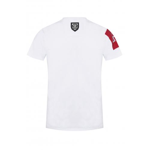 T-shirt Jason Blanc