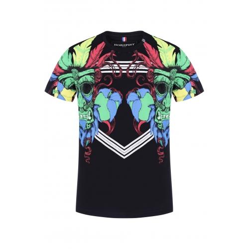 T-shirt Indian Noir