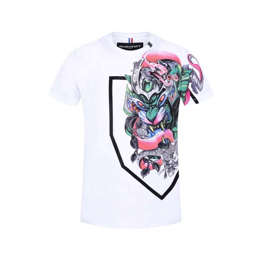 T-shirt Stunt Blanc