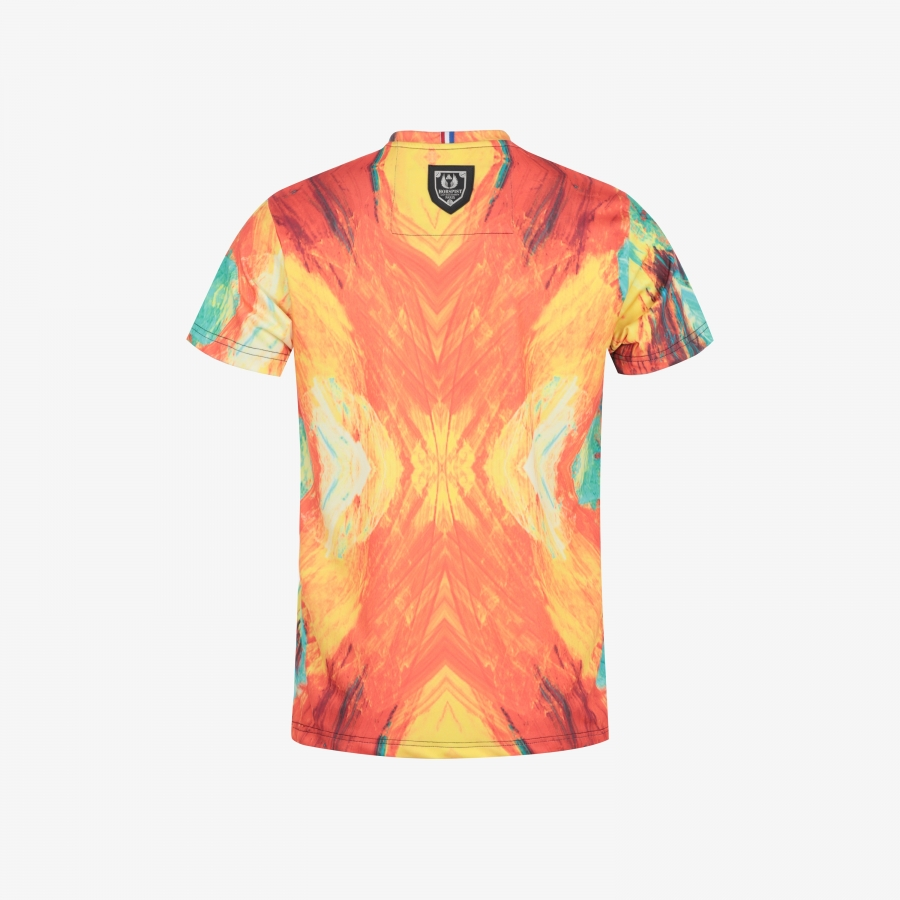 T-shirt Newton Orange