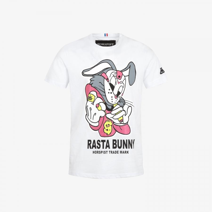 T-shirt Bunny White