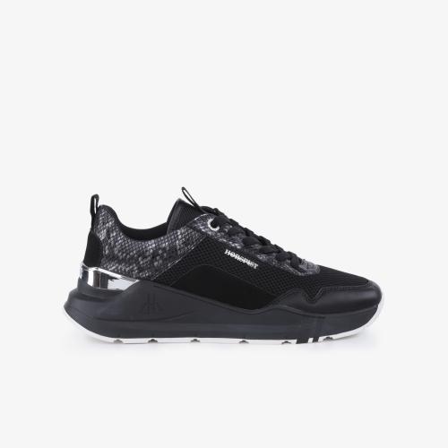 Sneakers Concorde Python Noir