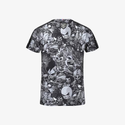 T-shirt Palm Black Manga