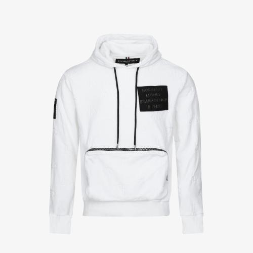 Sweat Dakota Velour Blanc