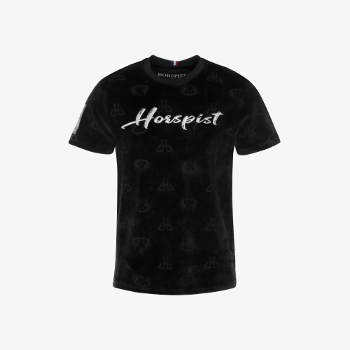 T-shirt Stephen Velour Noir
