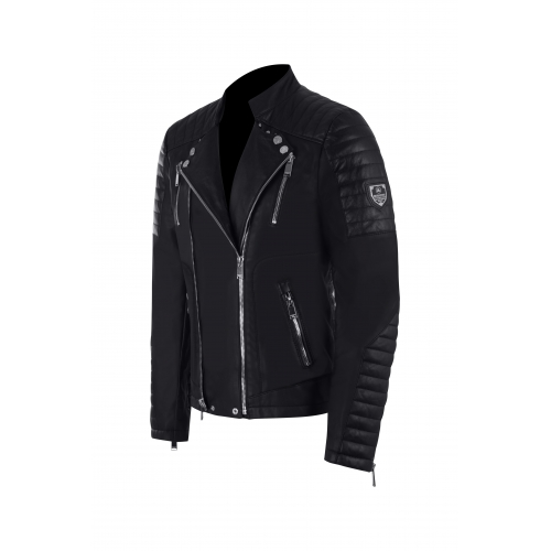 Jacket Manoir Leather Black