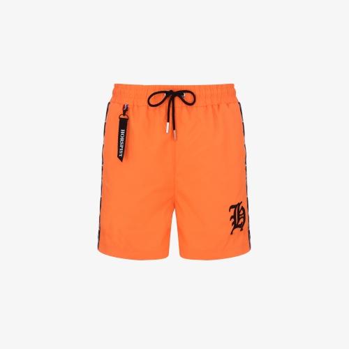 Short de bain Neal Orange Fluo