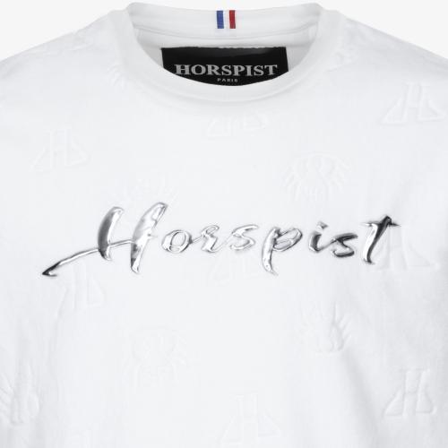T-shirt Stephen Velour Blanc