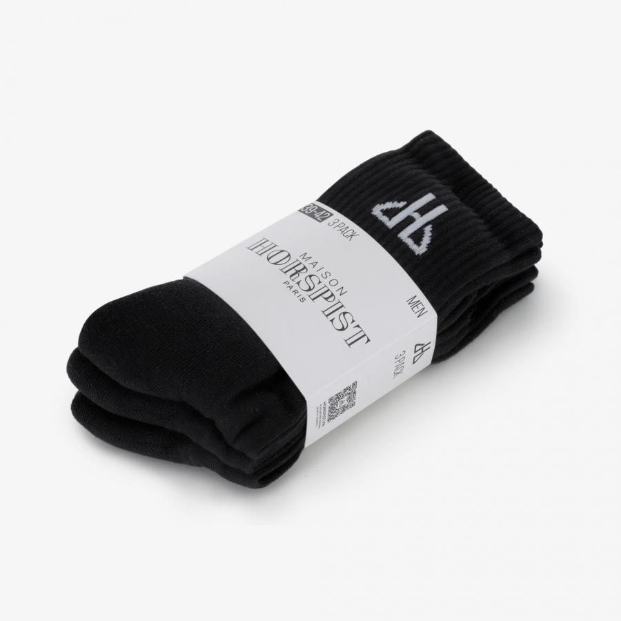 Chaussettes Black Star - 3 paires