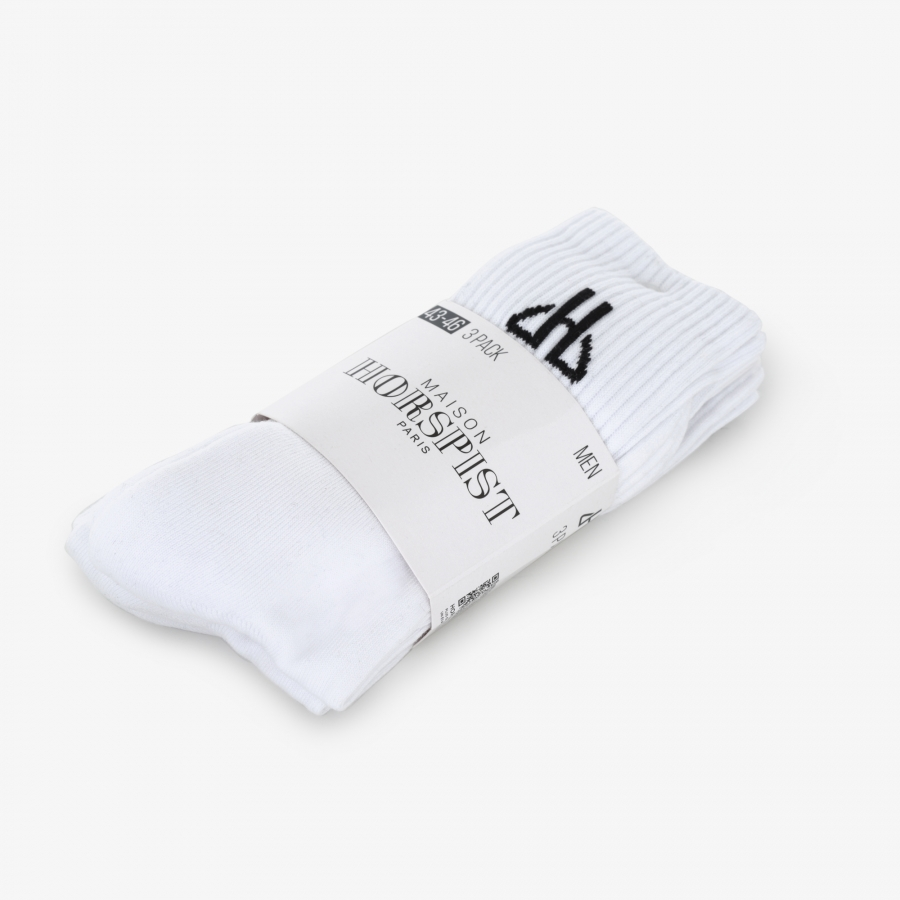 Chaussettes White Star - 6 paires
