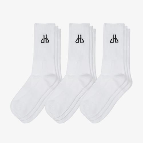 Socks White Star - Set 9 Pack