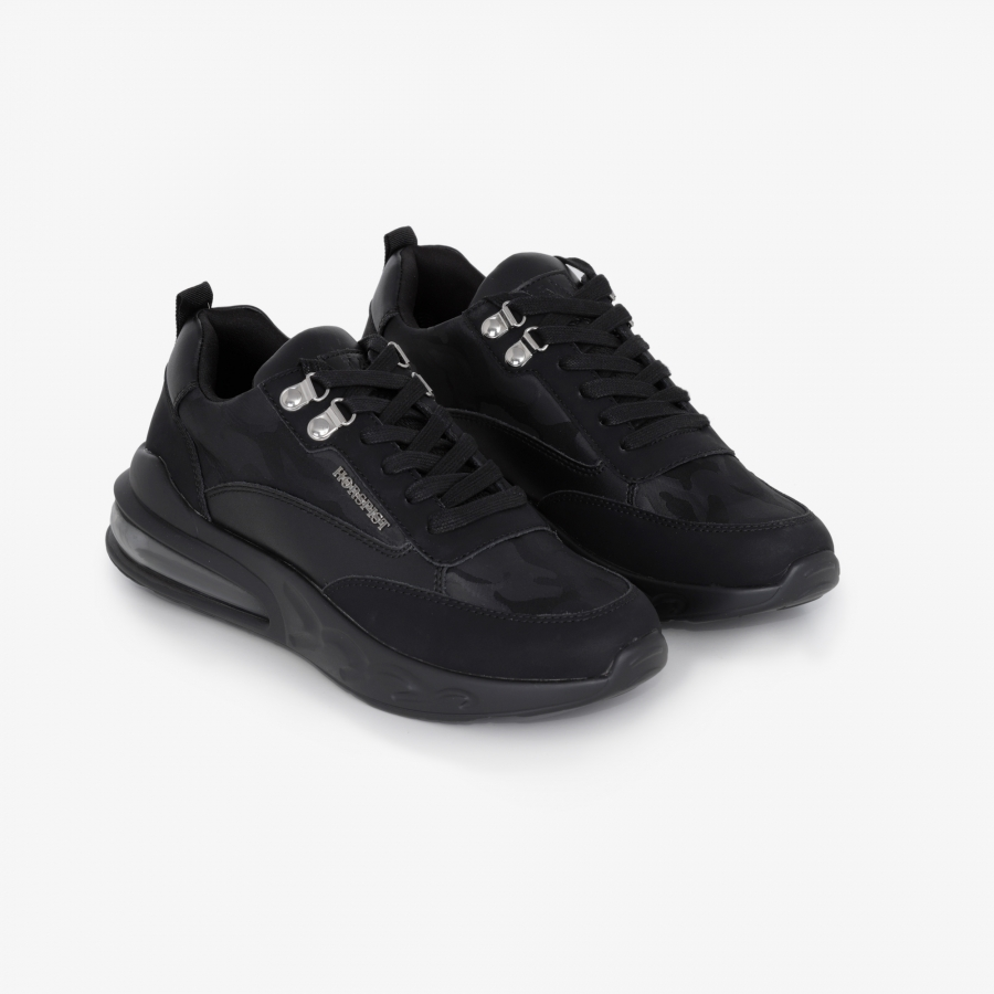 Sneakers Jumper Camouflage Noir