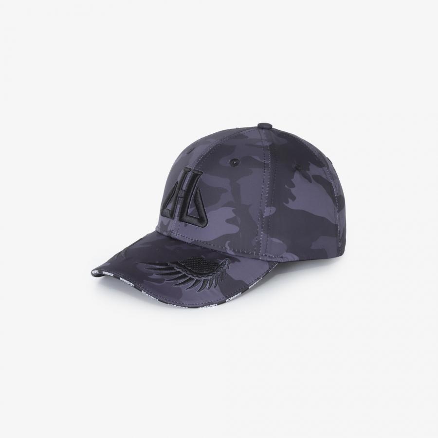Casquette Shima Camouflage Noir