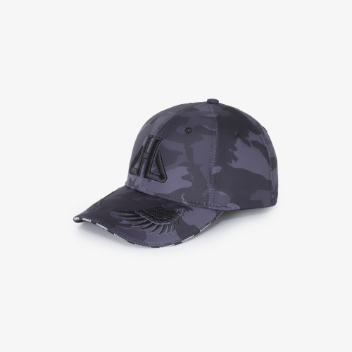 Cap Shima Camouflage Black