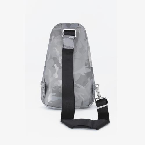 Sling bag Rhodes Camouflage Grey